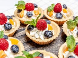 Fruit Berry Tartlets Dessert