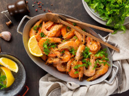 Lemon Roasted Shrimp
