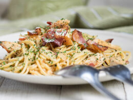 Spaghetti Carbonara Bacon