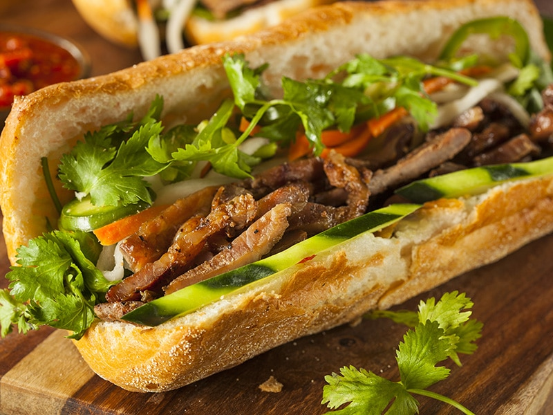 Vietnamese Pork Banh Mi