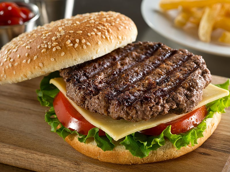 Grilled Angus Burger