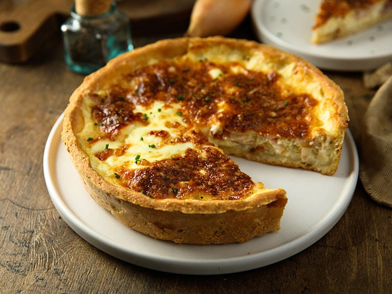 Meatloaf Quiche