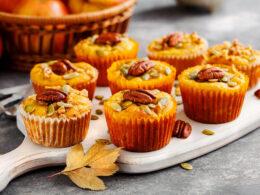 Muffins Pumpkin Pecans
