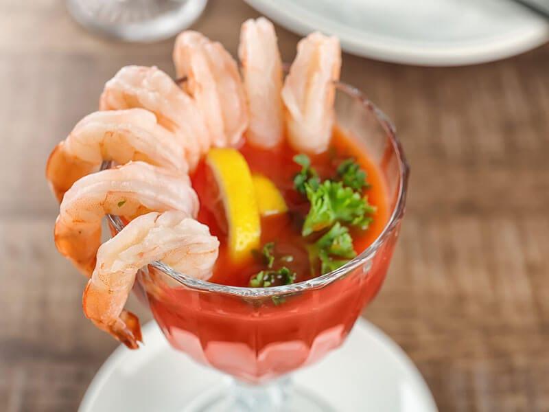 Shrimp Cocktail Tomato